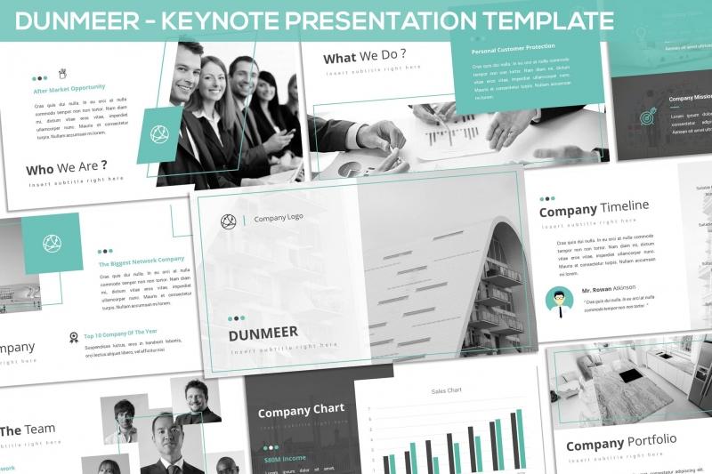 Dunmeer-主题演示模板(keynote)