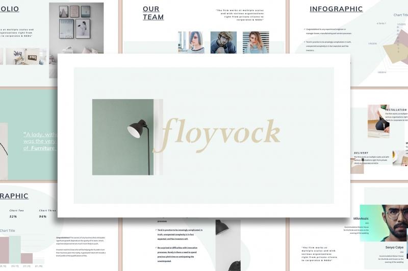Floyvock-架构Powerpoint模板